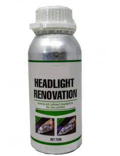 Kunststoffscheinwerfer Renovierungs Flussigkeit - 720g Flasche