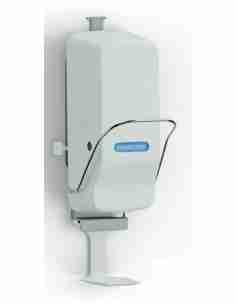 Smart Dispenser 500/1000 ml mit Armhebel * Ein Spendersystem für alle Produkte: Desinfektion, Waschen, Pflege